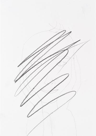 Bleistift auf Papier, 29,7 x 21cm, 2010