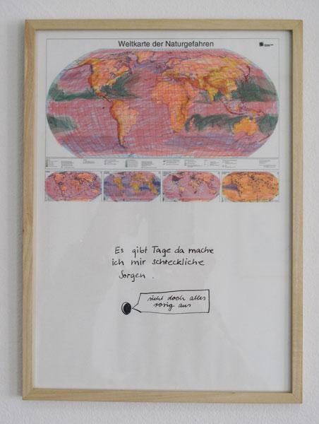 Tusche auf Tintenstrahldruck, 21 x 29,7cm, 2007