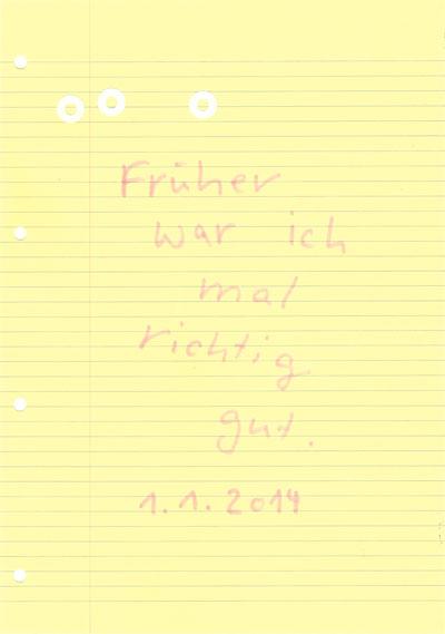 o.T., 2014, Stift auf Papier, 21x29,7cm